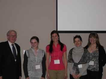 Awardees at FASD conf 2