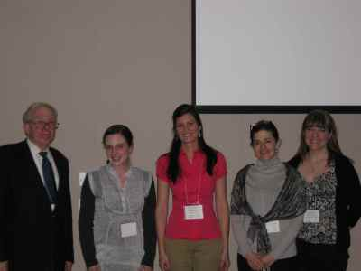 Awardees at FASD conf 2