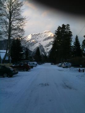Banff dusk 3-13